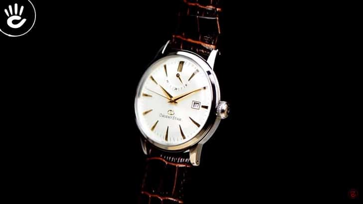 Đánh giá nhanh đồng hồ Orient SEL05005S0 máy cơ, trữ cót 40 giờ - hình 3